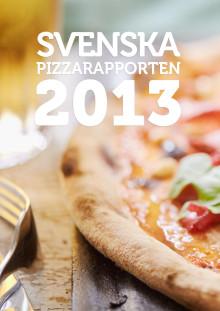 Svenska Pizzarapporten 2013