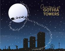På Gothia Towers: Julklappsinsamling & Julskyltning