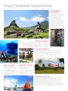 Dépliant 365 île Maurice 2016 - Top 10 à faire à Maurice