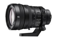 Sony wprowadza pierwszy na świecie obiektyw przeznaczony do współpracy z pełnoklatkowymi przetwornikami obrazu wyposażony w system elektrycznej regulacji zoomu *