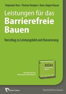 Leistungen für das Barrierefreie Bauen