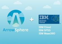 Arrow Electronics lägger till IBM IaaS, PaaS och SaaS-lösningar till molnplattformen ArrowSphere i Sverige