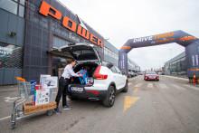 Power lanserer Drive-Thru for å begrense smittespredningen