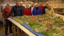 Lindesbergs Fotoklubb besökte modellstaden