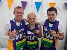 Tynemouth couple join Team Stroke at Paris Marathon
