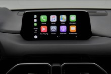 Mazda lanserer støtte for Apple CarPlay