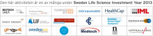 Sweden Life Science Investment Year 2013 - en gemensam satsning
