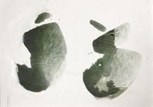 Live-måleri av Mensur Porovic när Härnösands konsthall har höstpremiär