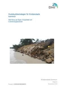 Kustskyddsstrategier för Kristianstads kommun. DHI-rapport 18-11-01