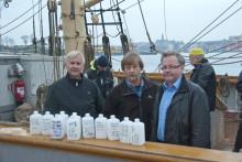 Hållbara Hav fortsätter jakten på läkemedelsrester i Östersjön