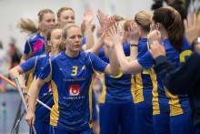 Svenska damerna vinnare i Euro Floorball Tour i Nurmijärvi, Finland