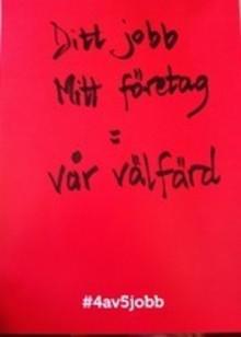 www.minvalaffisch.se och sociala medier – givna delar av valrörelsen