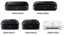 Canon utvider PIXMA-serien med fem nye modeller til hjemme- og kontorbruk