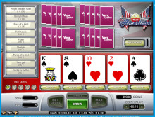 James won €20,480 playing All American Video Poker at Vera&John