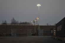 Oxelösunds hamn installerar MZ LED Mastbelysning