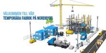 Innovationstänk krävs när byggarbetsplatser blir temporära fabriker