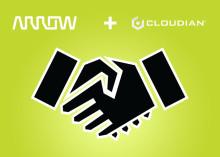 Arrow Electronics går in i distributionsavtal med fil- och objektlagringsleverantör Cloudian i Sverige