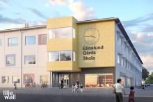 Ny grundskola byggs i Elinelund
