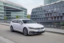 Volkswagen Sverige-etta i januari − laddhybriden Passat GTE visade vägen