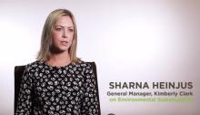 General Manager for Kimberly-Clark New Zealand, Sharna Heinjus talks sustainability