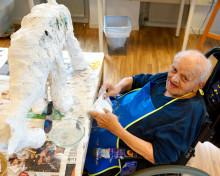 Att få ha ett aktivt arbetsliv efter pensionen