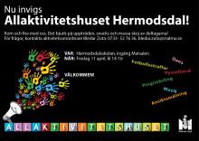 Nu invigs Allaktivitetshuset på Hermodsdal!