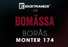 Ekstrands på Bomässa i Borås 14-16 oktober 2016