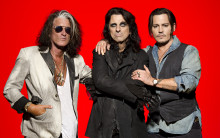 Alice Cooper, Johnny Depp och Joe Perry tar Hollywood Vampires till Grönan