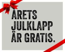Årets julklapp är gratis