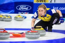 Curling-VM: Ny vinst för lag Hasselborg