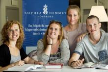 Fler sökande till Sophiahemmet Högskola till höstens utbildning