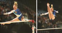 Jonna Adlerteg tar guld i barr i World Challenge Cup