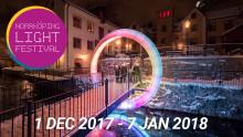 Välkommen på pressvisning av Norrköping Light Festival