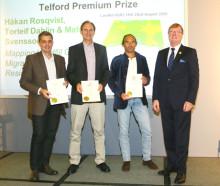 Tyréns FoU-projekt vinner pris