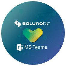 SolunoBC integreras mot Microsoft MS Teams/Lync Telephony