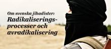 Ny forskning: Jihadism och avradikalisering i Sverige