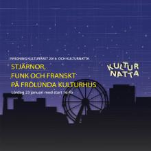 Invigning Kulturåret /kulturnatta 2016