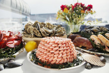 Shellfish sensation at the Grand Hôtel