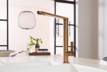 New premium kitchen tap fittings –  add an elegant touch to your sink area with Gold, Bronze and Anthracite