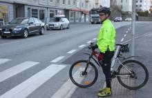 Er syklister dårlige på trafikkregler?