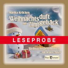 Pax et Bonum Verlag Berlin Weihnachtsduft mit Zimtgebäck
