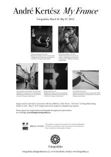 Pressbilder André Kertész