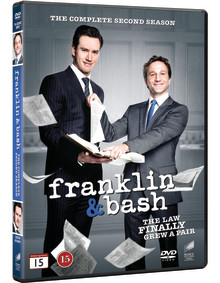 Franklin & Bash The complete second season -  Coming to DVD on 2014-05-14