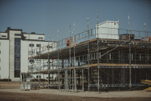 Inbromsning för lokalbyggandet första kvartalet