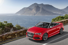 Audi S3 Cabriolet - med eleganta linjer och kraftfulla prestanda