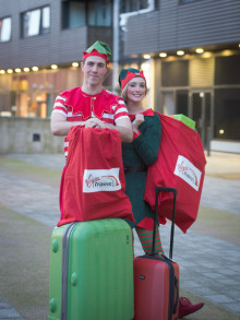 Virgin Trains employs Elves to launch Bag Magic