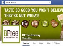 Nå har BFree fått norsk Facebook-side!
