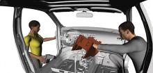 Datorsimulering av mänskliga rörelser i bilindustrin hjälper till att förebygga belastningsskador