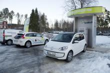 Gnosjöföretag levererar laddstationer till Green Highway i Jämtland och Västernorrland