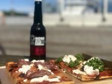 Surdegspizza och hantverksöl på nya Bröd&Salt Tullhus 3